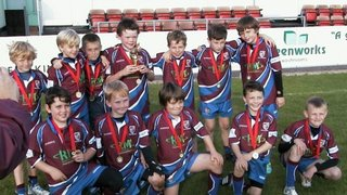 First festival win for U10s at Moseley