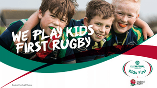 Gravesend RFC is confirmed as an Old Mutual Wealth Kids First Rugby Club.