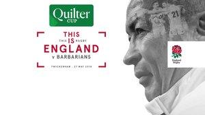 BoxShare at Twickenham ~ England v Barbarians Sunday 27th May, Kick-off 3-00pm