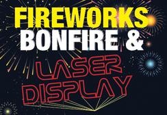 Fireworks, Bonfire & Laser Display