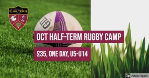 Oct '19 Half Term Rugby Camp tickets now on-sale