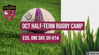 Oct Half-term Rugby Camp