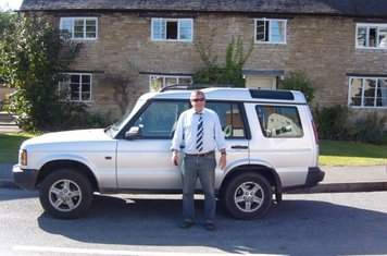Our Dino's Organiser - Joe Ross in his Clean new Disco, take a good look it's the last time you will see it so clean!