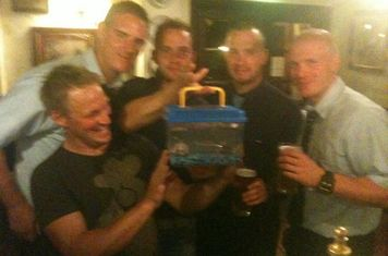 Trevor on the Piss  WC Sept 19th  Fishkeeper - Andy King