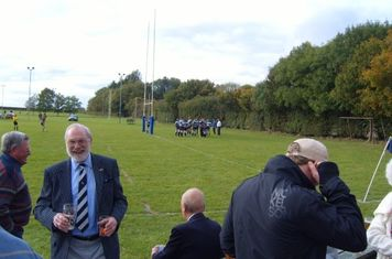 The 1st XV down a try