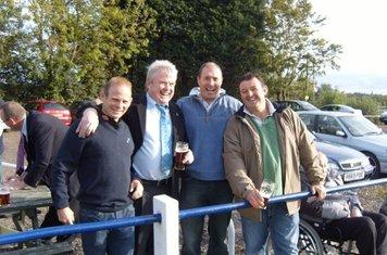 A few old un's Olly Hoffman, Butch Haville, Simmy Rawbone & Rick Frogley