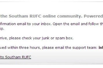 You will then get an eMail confirmation. Note check your spam folder as some  systems mark this email as spam.