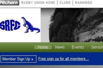 Select Member Sign Up below the Southam Logo