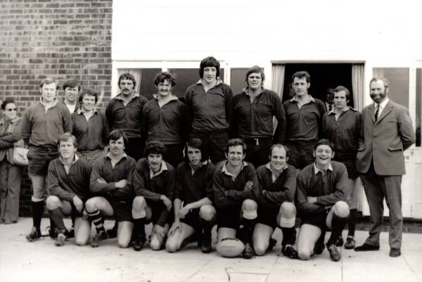 Chairmans XV - Clubhouse opening 25/1/1973