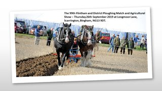Help Needed for the Flintham Show