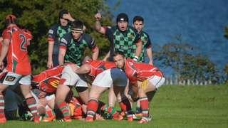 Larne 1sts v Clogher Valley, Junior Cup, 17-10-15, Bill Guiller Photos