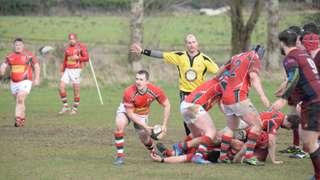 Academy 1sts v Larne 1sts - 27th Feb 2016 - Andy Colhoun Photos