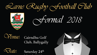 Larne RFC Formal 2018