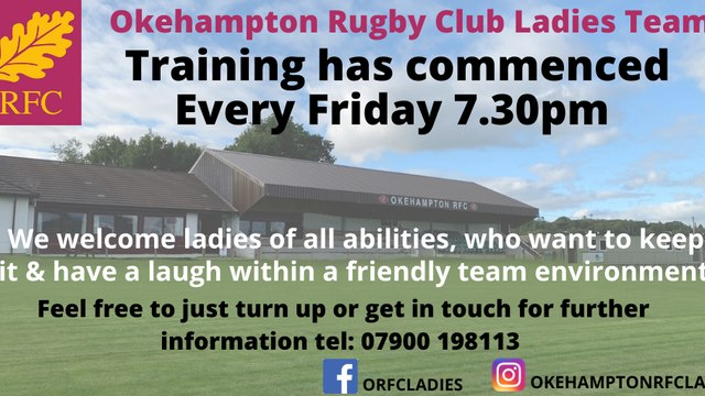 Ladies Traning has commnced