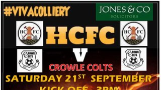 Crowle Colts Match Preview