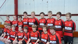 U13s First Look at New match kit
