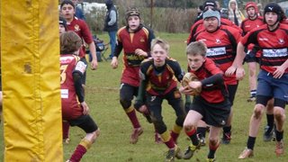 Gordano U13s 31 v Dursley 7
