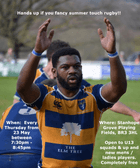 Touch rugby details