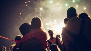 Beckenham Fireworks in The Park 2019
