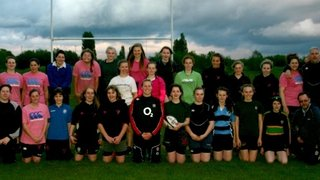 training session with England international Amber Reed