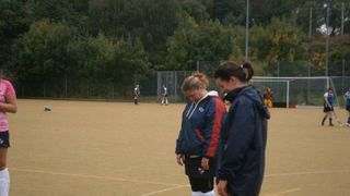 Ladies 1s Inaugural Match vs Wigan (08/10/13)