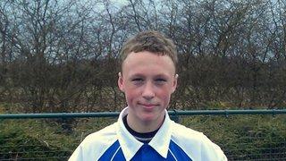 Martin Hamon Awarded Men's Junior Player of Season 2012/13