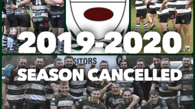 SEASON CANCELLED BY RFU!