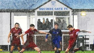 Squires Gate 1-1 Hanley Town - Saturday 26th January 2019