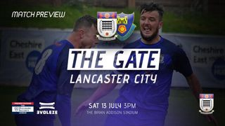 MATCH PREVIEW: Squires Gate v Lancaster City (Pre Season)