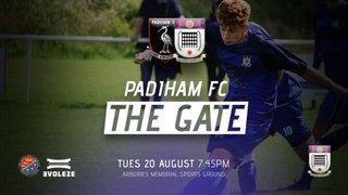 NEXT UP: Padiham v Squires Gate