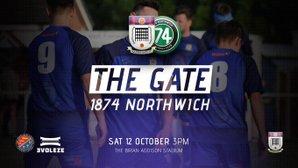 NEXT UP: Squires Gate v 1874 Northwich