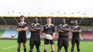 Mighty Warl Juniors meet Mighty All Blacks