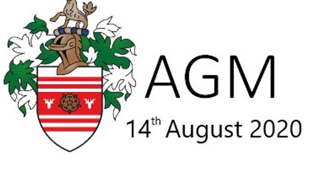 ERFC - AGM – 14th August 2020