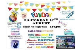 FAMILY FUN DAY - Sat 17th August 12pm - 5pm