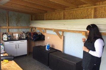 A tidy hut