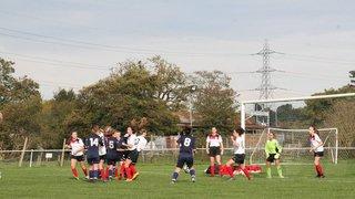 Denham Ladies vs Bury U16 - 28 Oct 2017