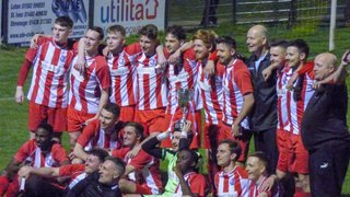 Development Team Win The Trophy.