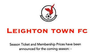 Season / Membership Ticket Information 2019/20 Season