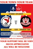 Saturday 10th August - FA Cup Online Programme