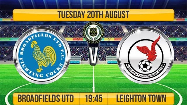 Next Match - Away v Broadfields United
