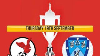 Thursday 19th September FA Youth Cup at Bell Close