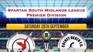 Saturdays 28th September Match Programme