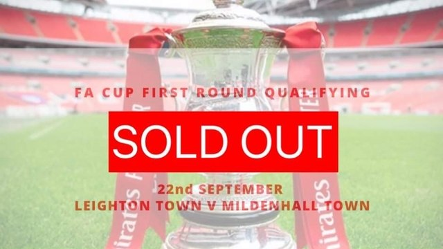 FA Cup Tickets SOLD OUT