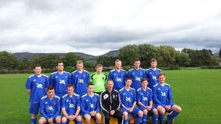 Ruthin Colts v Llangollen League cup 1st Round 2013