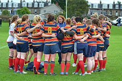 A decade to celebrate -  10 years of Women's rugby at Wardie