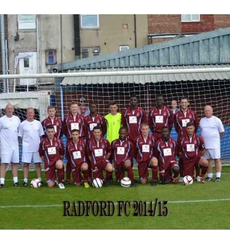 RADFORD FC 2014-15