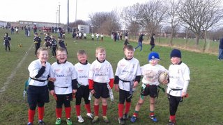 ROVERS  U7 and U8 'S at OLD BOYS