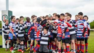 U12 As win the Bowl at the London Irish Festival