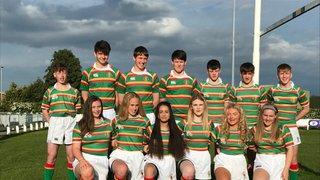 Alnwick boys & girls juniors celebrate County success.
