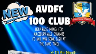 First 100 Club Draw This Weekend